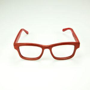 occhiali cuoio lodovico otello fronte